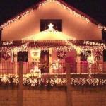 307349 decoração externa de natal com pisca pisca8 150x150 Decoração externa de Natal com pisca pisca