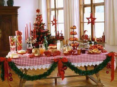 307390 Mesa de ceia de natal Descubra como decorar uma mesa para a ceia de natal