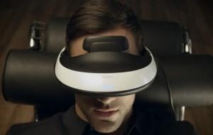 Óculos simulam cinemas de alta definição em 3D