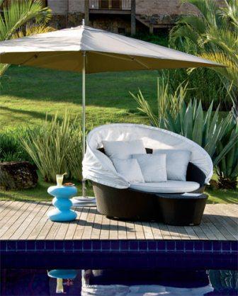 307823 sofá piscina Móveis para a área externa: acerte na escolha
