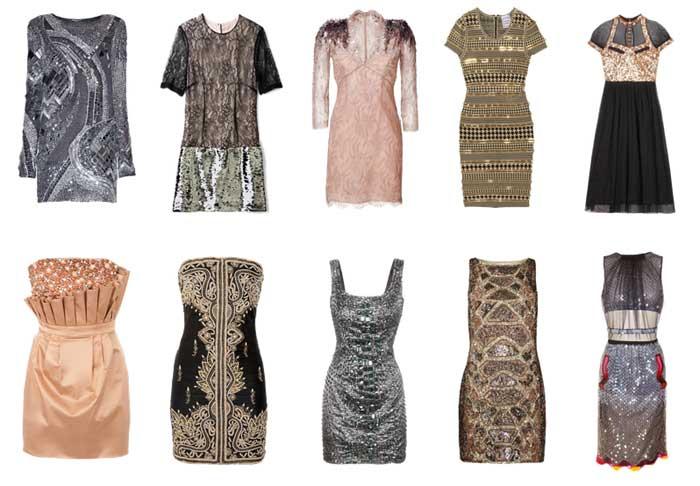 308271 vestidos Bordados e Pedrarias   Verão 2012