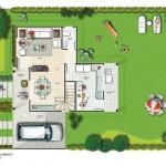 31111 planta moderna 10 150x150 Planta de casas modernas