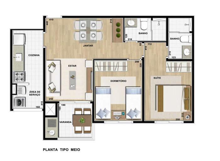 Planta de casas modernas for Plantas casas modernas