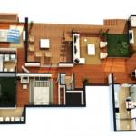 31111 plantas modernas 1 150x150 Planta de casas modernas