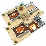 31111 plantas modernas 4 150x150 Planta de casas modernas