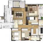 31111 plantas modernas 6 150x150 Planta de casas modernas