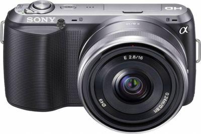 311509 Sony Alpha NEX C3 Melhores máquinas fotográficas semi profissionais