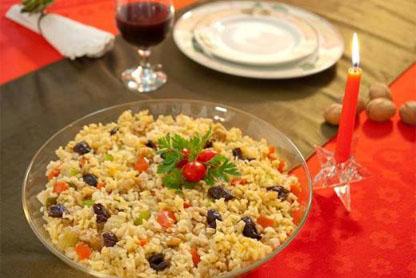 312068 arroz natalino 2 Aprenda a fazer um delicioso arroz natalino