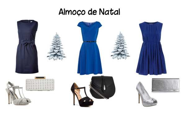 315673 Vestidos Azuis Especial de Natal   Dicas de looks para almoço de Natal