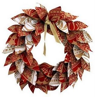 316017 guirlanda de papel Guirlandas de Natal: técnicas artesanais para confeccionar