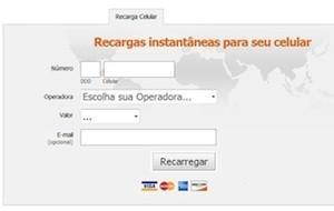 Site para a recarga de celulares roubava os dados dos clientes
