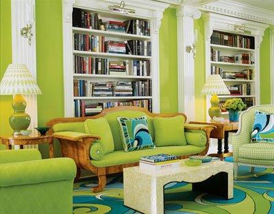 317160 sala verde Sugestões para escolher a cor de parede da sua casa