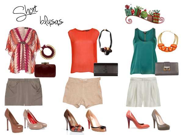 317380 blusas Especial de Natal   Looks com short