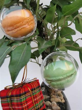 317389 Bel Macarons Aprenda a decorar a árvore da natal com enfeites comestíveis