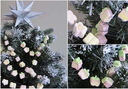 317389 enfeite para o natal Aprenda a decorar a árvore da natal com enfeites comestíveis