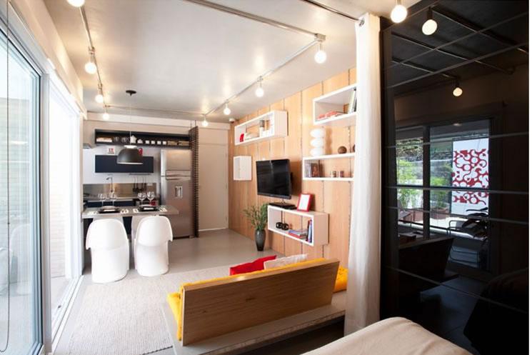 31813 apartamento pequeno decoracao 3 Decorar apartamentos pequenos