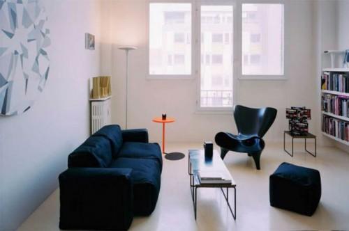 Decorar apartamentos pequenos Living modernos pequenos