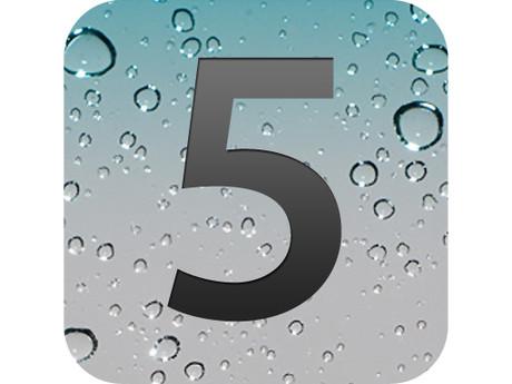 319054 iOS 5 logo IOS 5 aparece em quase 40% dos iPhones, diz pesquisa