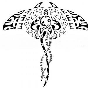 319956 arraia 300x300 Tatuagem maori: significado, fotos
