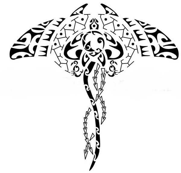 319956 arraia Tatuagem maori: significado, fotos