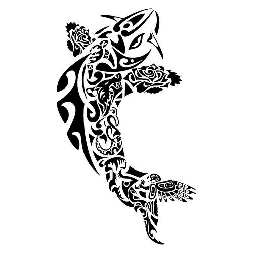 319956 baleia Tatuagem maori: significado, fotos