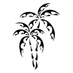 319956 palmeira 300x300 Tatuagem maori: significado, fotos