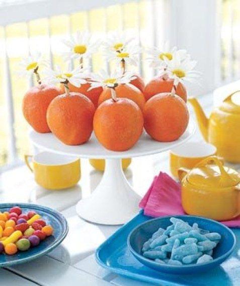 321015 laranja para decorar a mesa Conheça as frutas que combinam com o Réveillon