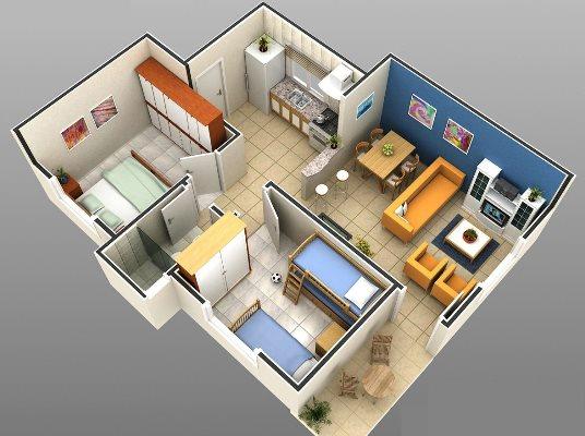 32127 Plantas de casas residenciais 8 Plantas de casas residenciais