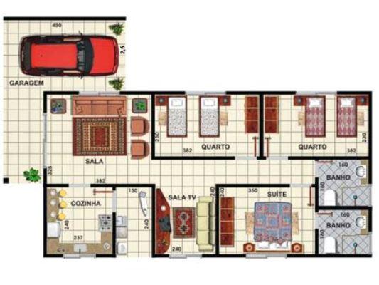 32127 Plantas de casas residenciais Plantas de casas residenciais