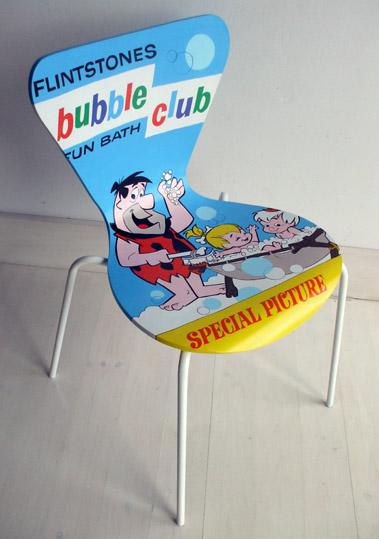 322880 Flintstones Cadeiras diferentes para decorar: modelos