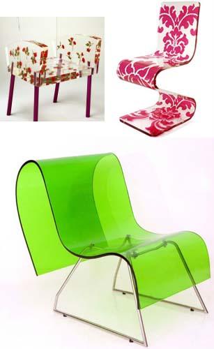 322880 cadeiras em acrílico Cadeiras diferentes para decorar: modelos