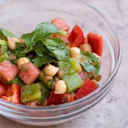 322938 salada de lentilha Saladas saborosas para preparar no Réveillon