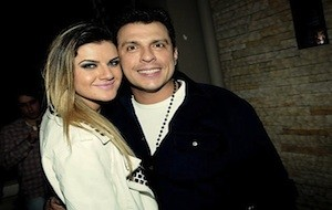 Mirella Santos e Ceará estão noivos