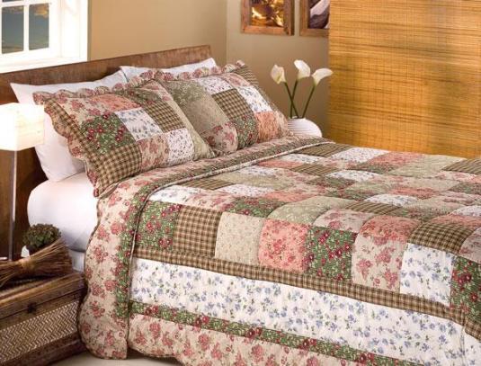 325357 colcha patchwork casal Decoração de casa com patchwork