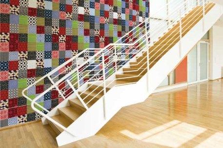 325357 papel de parede Decoração de casa com patchwork