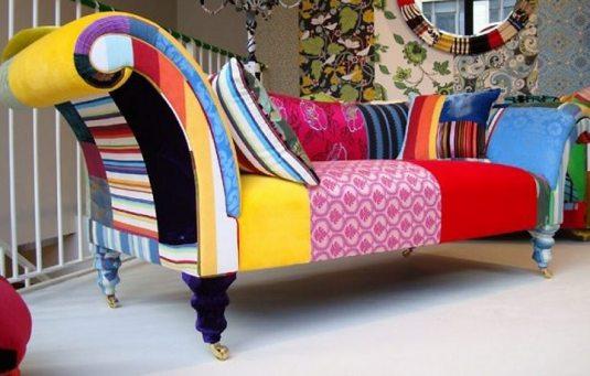 325357 sofá pacthwork Decoração de casa com patchwork