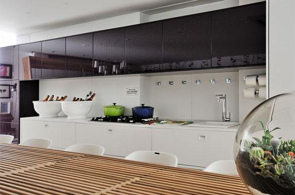 326683 casa de veraneio Cozinhas gourmet integradas com a sala, fotos