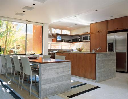 326683 cozinha e sala Cozinhas gourmet integradas com a sala, fotos