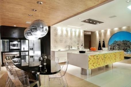 326683 cozinha gourmet Cozinhas gourmet integradas com a sala, fotos