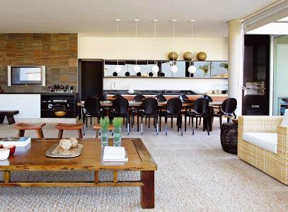 326683 cozinha integrada Cozinhas gourmet integradas com a sala, fotos