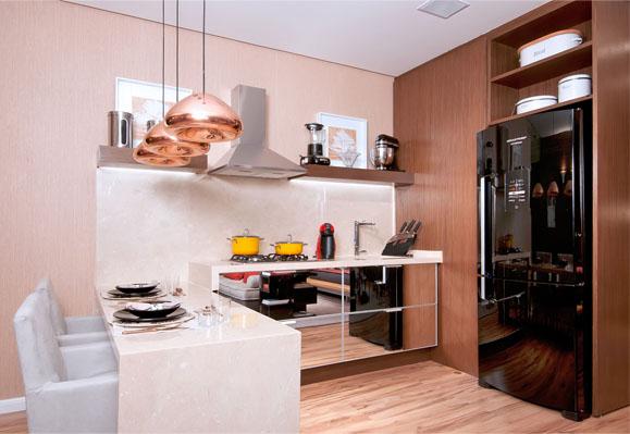 326683 loft nova yorkino Cozinhas gourmet integradas com a sala, fotos