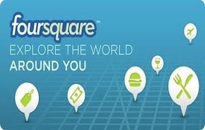 Foursquare para iPhone e Android