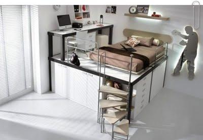 327231 20090419 184407 09041805 bloguncoveringorg mobilia 570x380 Ideias de decoração para quartos pequenos