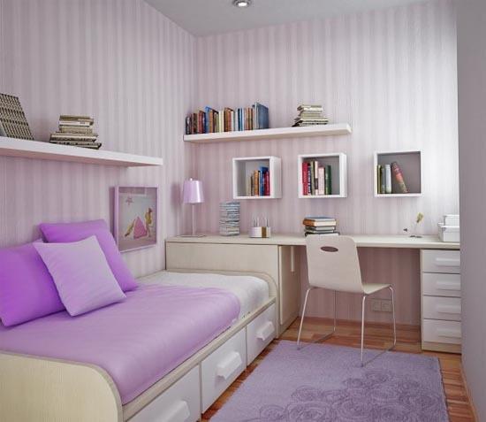 327231 designlilacroom Ideias de decoração para quartos pequenos