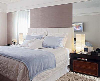 327231 espelho quarto Ideias de decoração para quartos pequenos