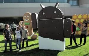 Saiba quais aparelhos receberão o Android 4.0 Ice Cream Sandwich primeiro