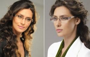 Maquiagem básica para mulheres que usam óculos