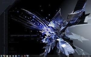 Tema moderno e abstrato para Windows 7