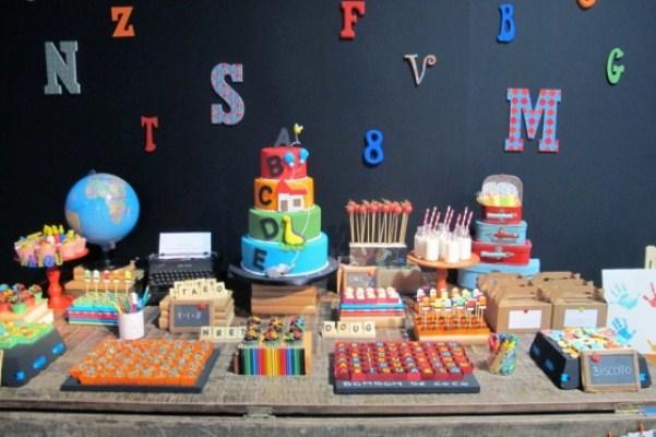 festa infantil na escola 23 150×150 Decoração de festa infantil na