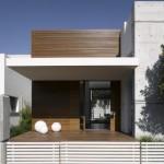 329575 fachada em madeira ripada 150x150 Modelos de cozinhas decoradas